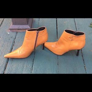 Charles David Italian Leather Booties